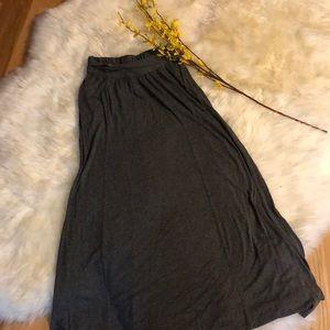 Grey Maxi with Pockets